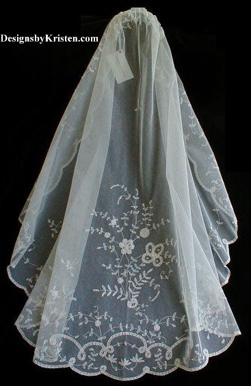 Kristen Elizabeth Lace Wedding Veils
